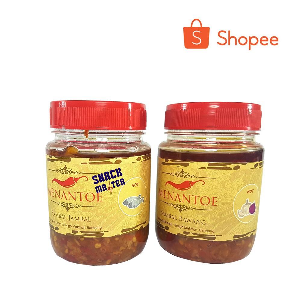 Sambal Bawang Cap Menantoe Shopee Indonesia Little Dragon 2 Botol