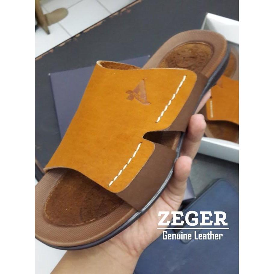 Dapatkan Harga Sandal Terbaru Diskon Shopee Indonesia Dr Kevin Men Sandals 97200 Tan Putih 40