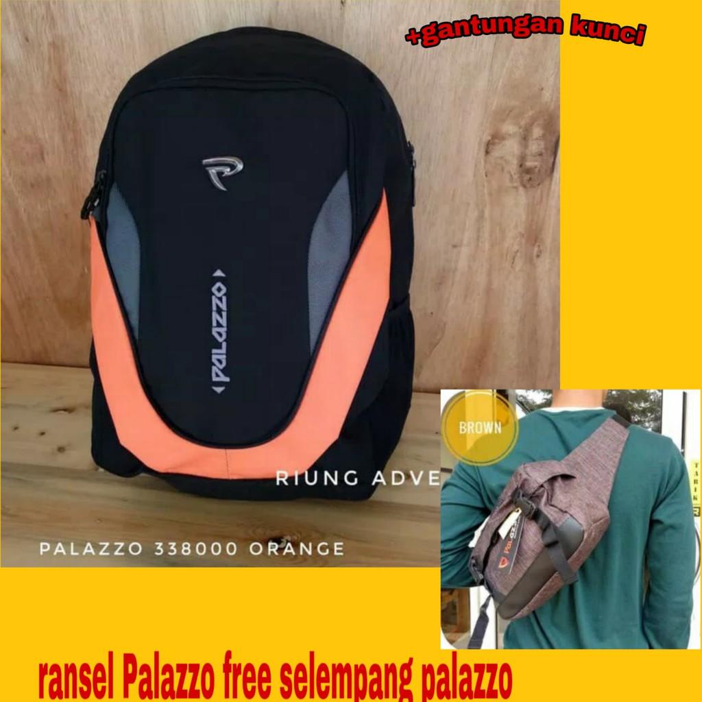 Paket Beli Satu Gratis Satu Tas Palazzo Ransel 33800 Plus 39401 Selempang 5dd5199451