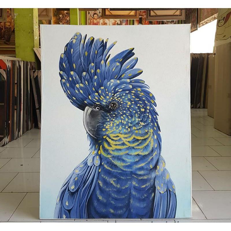 27 Gambar Lukisan Burung Kakak Tua Terbaik Lingkar Png