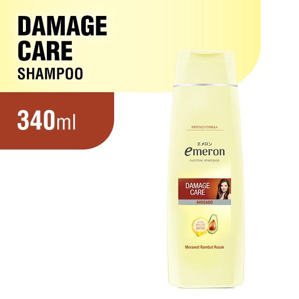 Emeron Shampoo Damage Control Botol 340ml-1