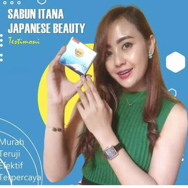 Grosir SABUN ITANA SKINCARE / itana beauty Japanese soap ヲ