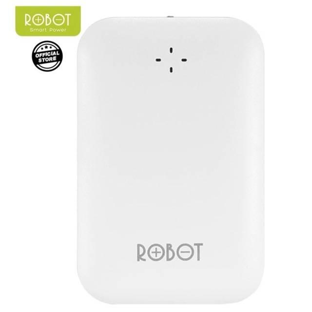 Powerbank Robot Rt7300 power bank 6600 mah RT-7300 6600mah REAL CAPACITY