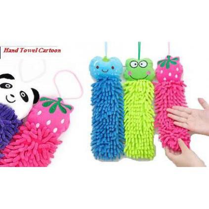 Lap Microfiber Karakter Lucu - Hand Towel Microfiber Chenill | Shopee Indonesia