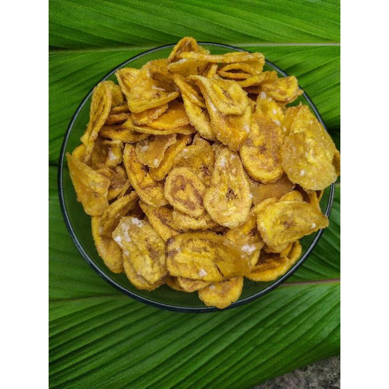 kripik pisang manis/kripik pisang asin/pisang krispi/aneka kripik