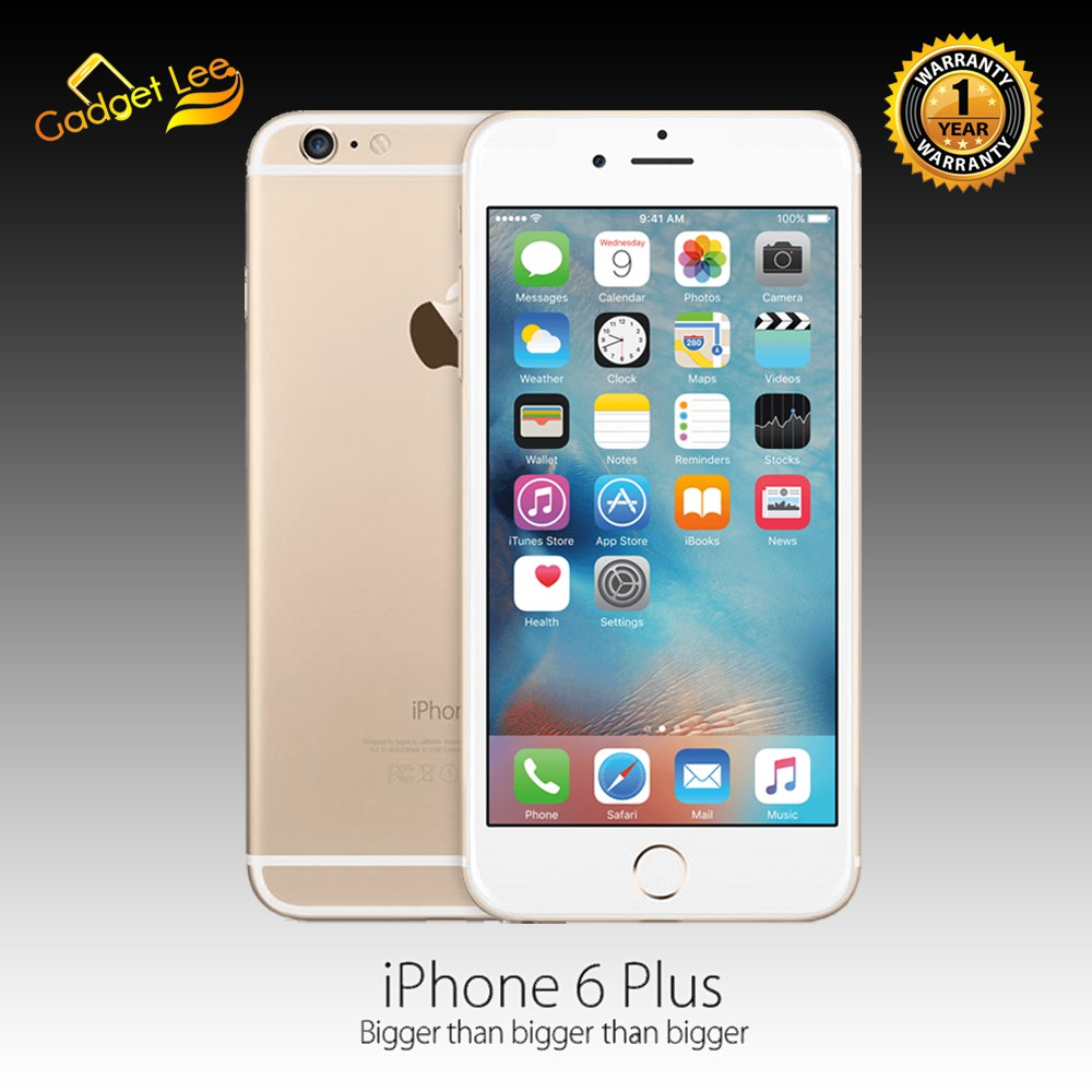 Apple iPhone 6 Plus 16GB Gold - Garansi Distributor 1 Tahun  0cafb29f79