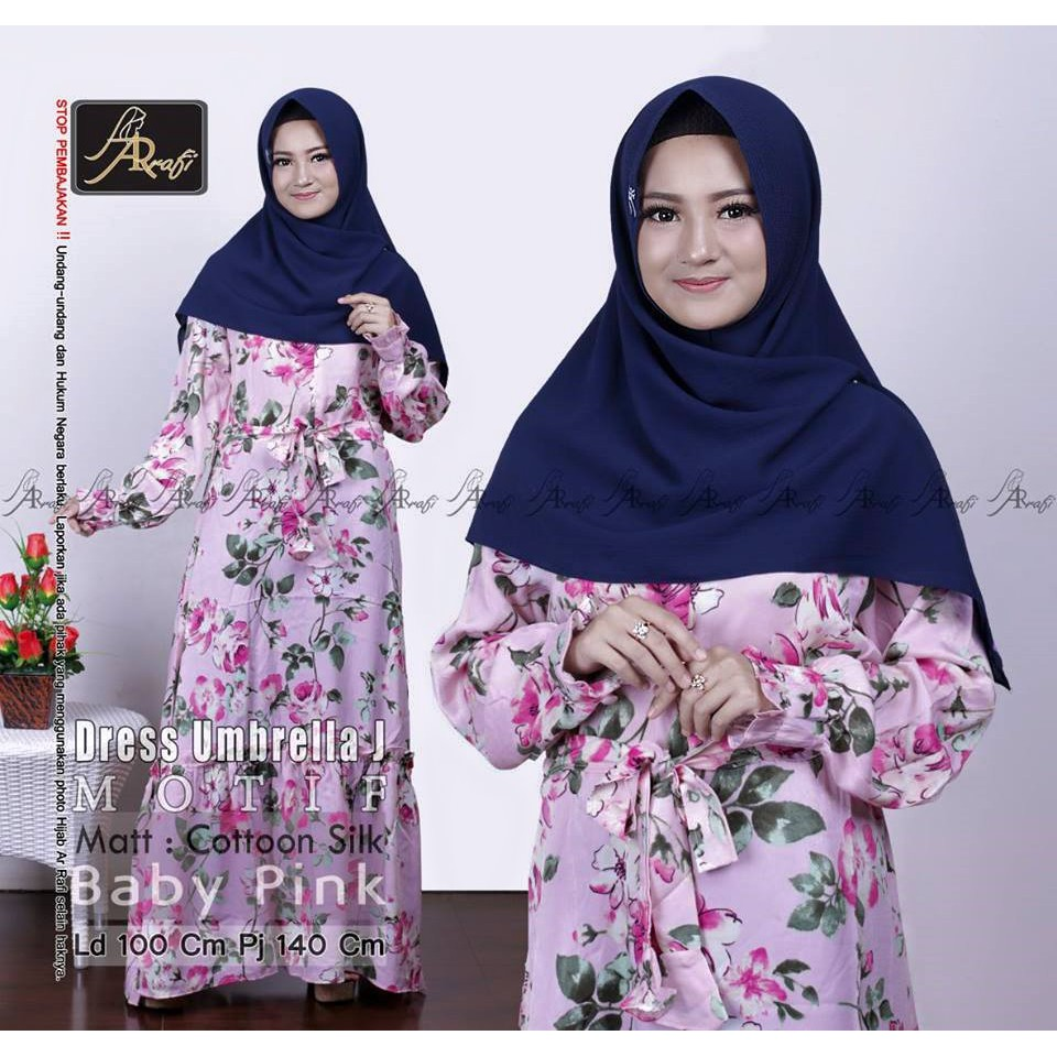 3dcb5fa05f DRESS NAFISA BY AR RAFI | Shopee Indonesia