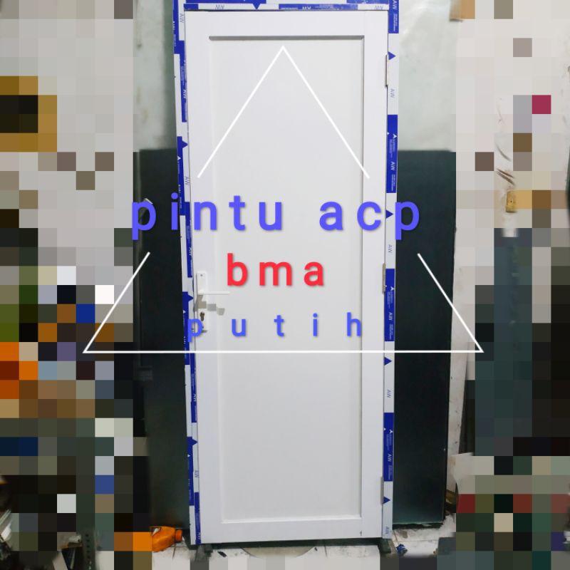 pintu aluminium acp kamar murah promo