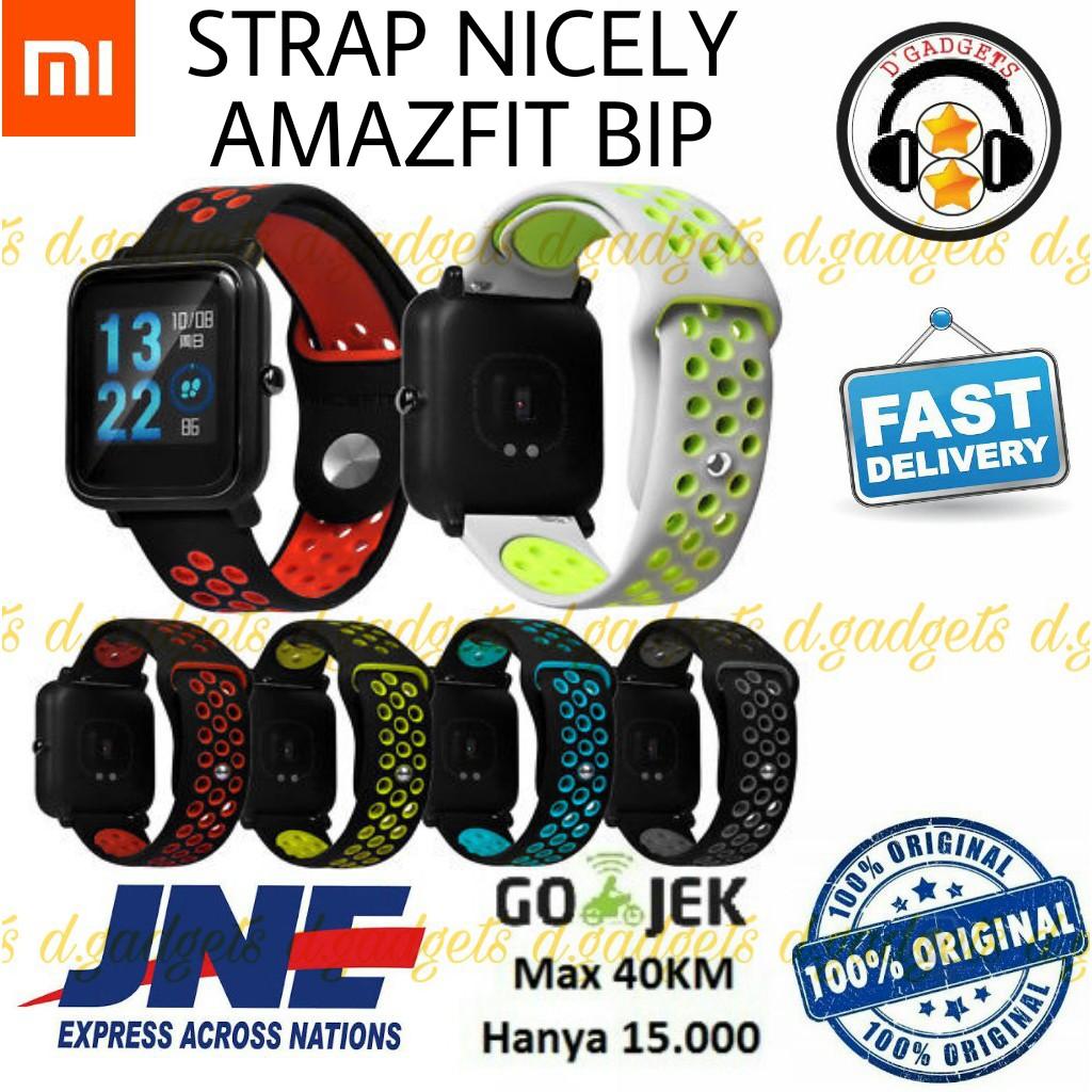 Tersediaready Stcokbahasa Inggris Xiaomi Huami Amazfit Bip Smartwatch Band Replacement Strap Lite Version Sports Smart Watch Shopee Indonesia