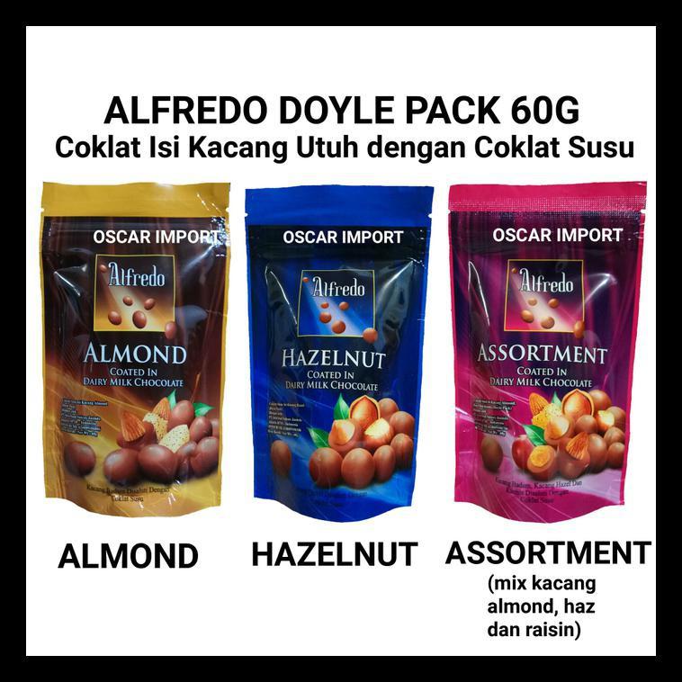 Cokelat Alfredo Doyle Pack 100gr / Coklat Alfredo Doyle 100gr | Shopee Indonesia