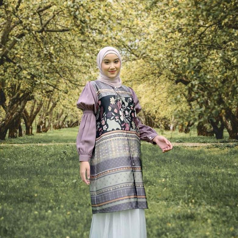 [ART. 921369] Binar Dress Binar Blouse by Vanilla Hijab ( OPEN JASTIP )