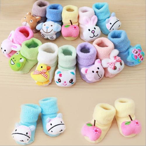 Kaos Kaki Sepatu Boots Untuk Bayi Laki Laki Perempuan Baru Lahir