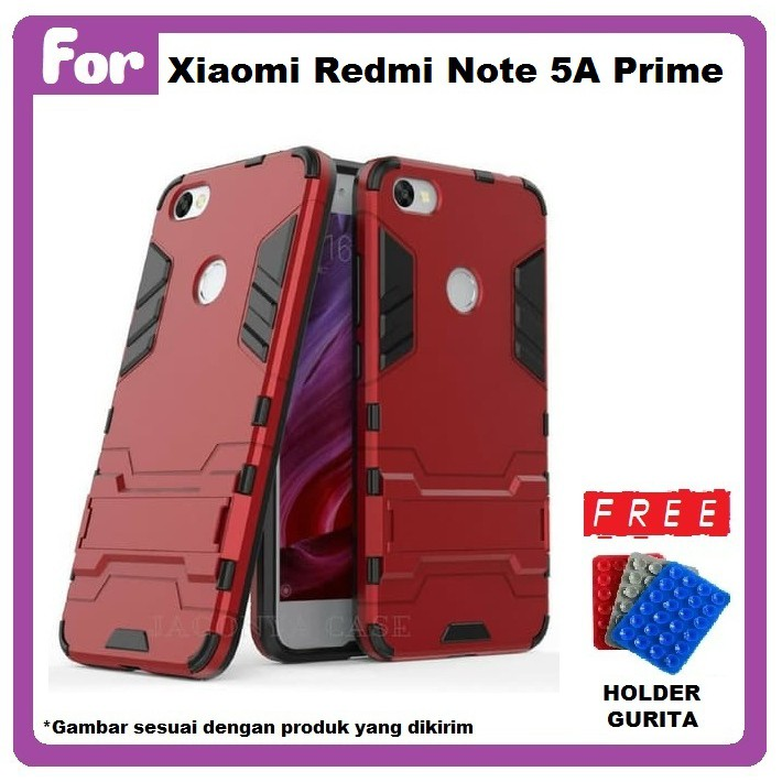 Procase Kickstand Hybrid Armor Iron Man Pc Tpu Back Cover Case For ... -. Source · Case Xiaomi Redmi Note 5A Prime Ironman With Kickstand FREE GURITA ...