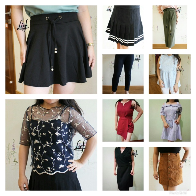 Paket Usaha Baju Import Bangkok Isi 10pc Per Pack Shopee Indonesia