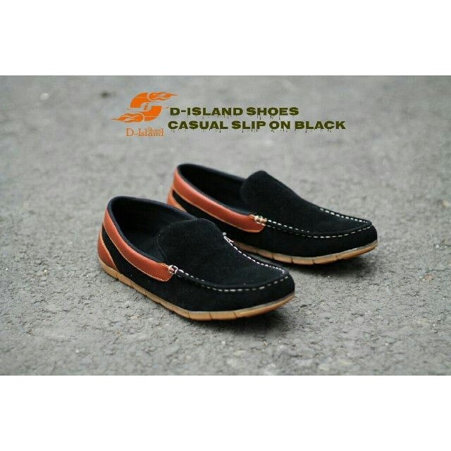 Sepatu Formal kasual Pria Modis - MR JOE NERSON - Black  519d1be93f