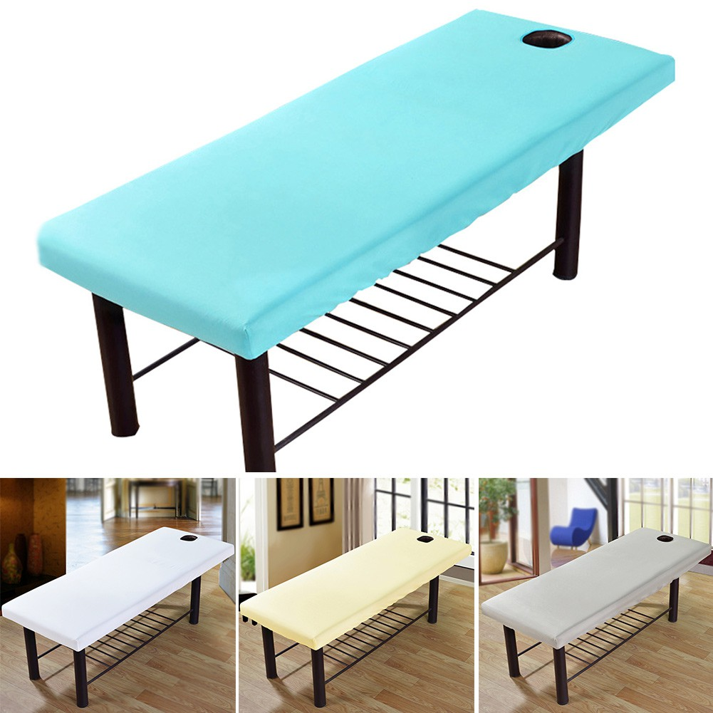 Fashion Spa Massage Cosmetic Bed Cover Table Plinth Treatment
