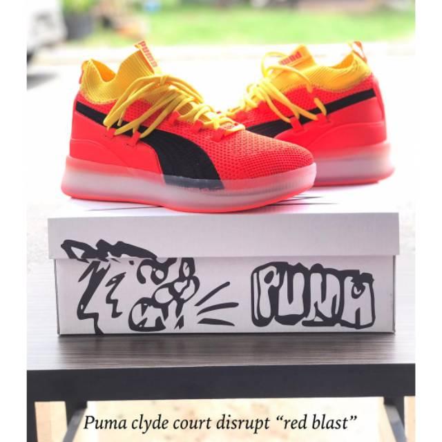 bc1c2679fc8 Sepatu Basket Puma Clyde Court Disrupt - Cool Grey