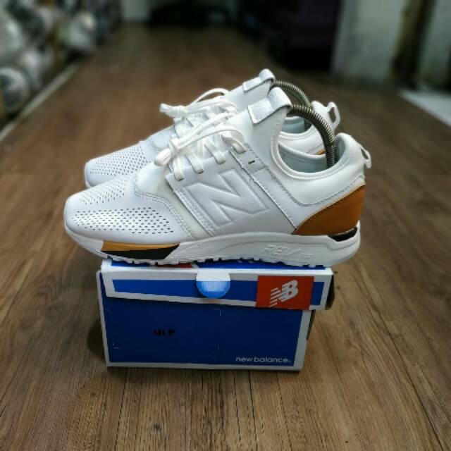 [Socca_Shoes] New Balance 247 White Brown MRL247BE BNIB Mirror/Ua Quality
