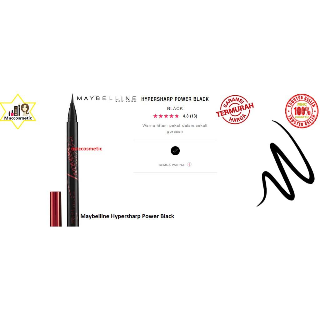 Eyeliner Maybelline Hypersharp Temukan Harga Dan Penawaran Power Black Liner Hitam Kosmetik Mata Online Terbaik Kecantikan November 2018 Shopee Indonesia