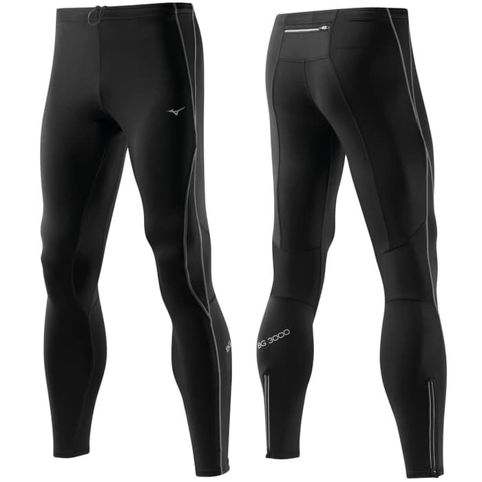 Mizuno Men Tights Bg3000 Running Legging Compression Celana Lari Pria Shopee Indonesia