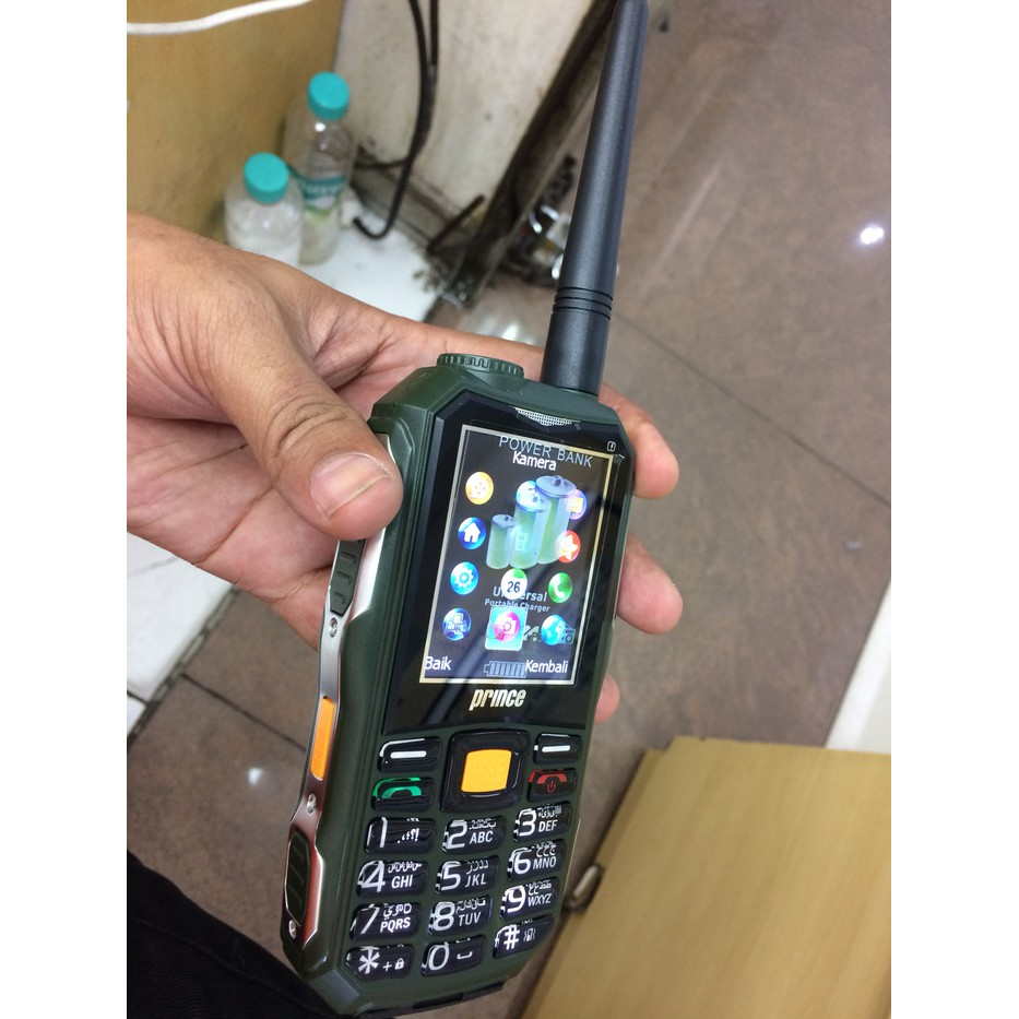 HP ANDROID OUTDOOR PRINCE PC-118 3G BISA POWER BANK NEW BIG POWER   Shopee