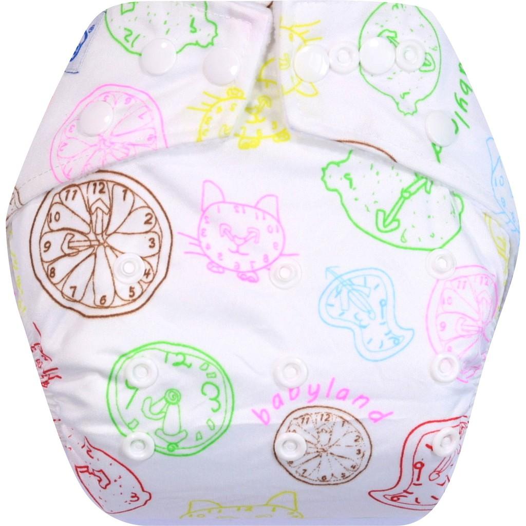 Clodi Popok Kain Bayi Babyland Snap Microfiber Frog Cloth Diaper Minikinizz Izzy Eco Grosir  Motif 6 Best Seller Shopee Indonesia