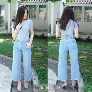 AF OFFICIAL- Kulot/Cullote Jeans Unfinished ( Kulot Rawis ) By 'SilverGold' Jeans
