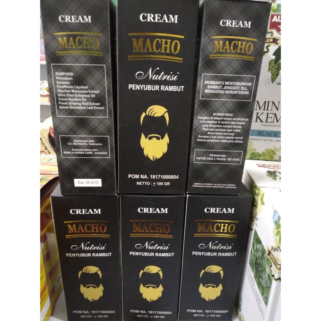 Promo Sale Cream Macho Nutrisi Herbal Penyubur Rambut Jenggot Bidara Kapsul Terapi Ruqyah 50kpsl Jambang Shopee Indonesia