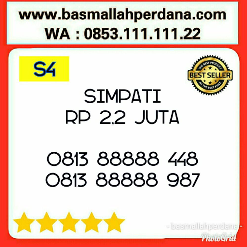 Nomer Nomor Cantik Telkomsel Simpati Seri Kwartet 9999 Triple 666 0822 9999 6667 6668 6669 simple