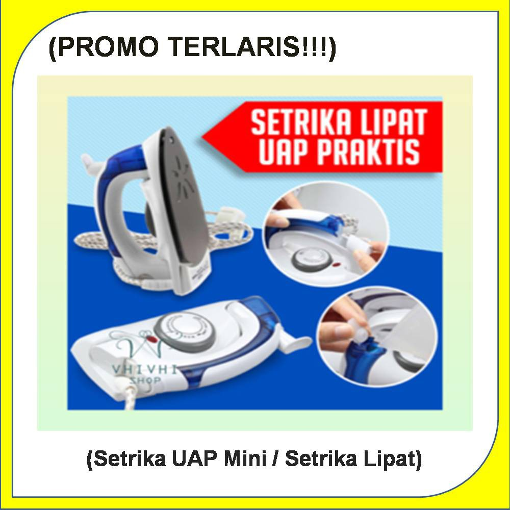 Setrika Uap Lipat Hetian Travel Steam / Traveller Steamer Unik Murah | Shopee Indonesia