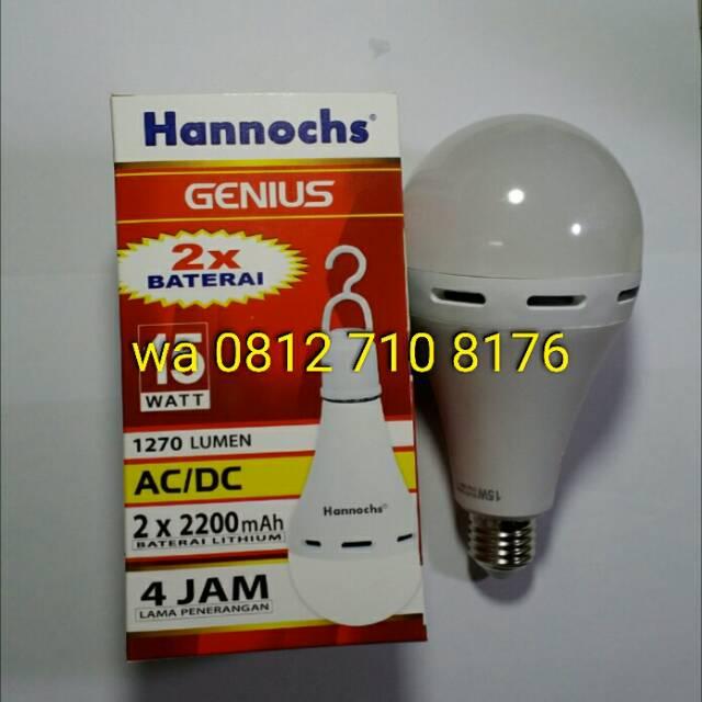 Lampu Led Emergency Hannochs Genius .