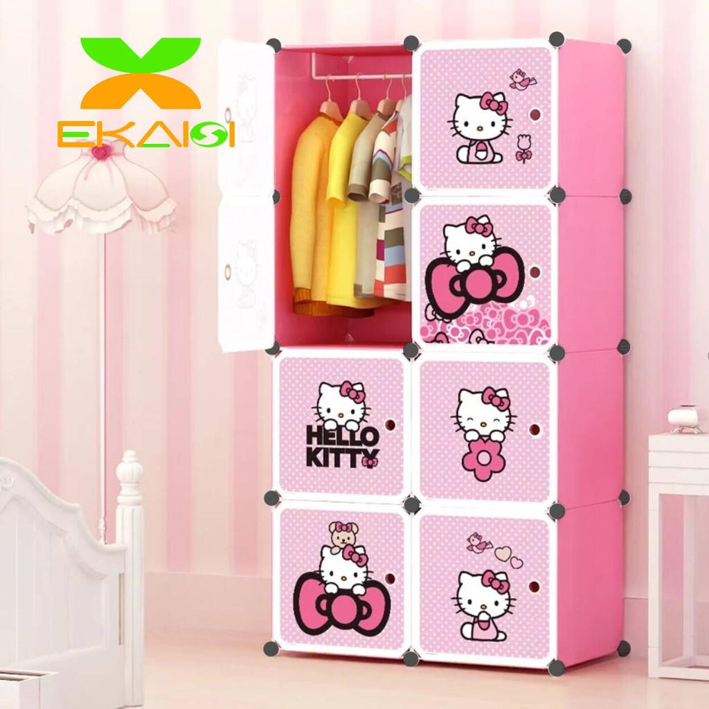 Harga Lemari Hello Kitty Terbaik Furniture Perlengkapan Rumah Agustus 2021 Shopee Indonesia Harga lemari anak anak