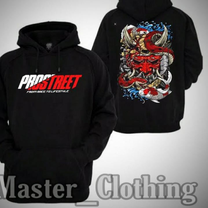 "㋡|RTV402|♦ Hoodie Jaket Sweater PROSTREET THE LAST KOHAKU Keren Sekali♠ ""..."