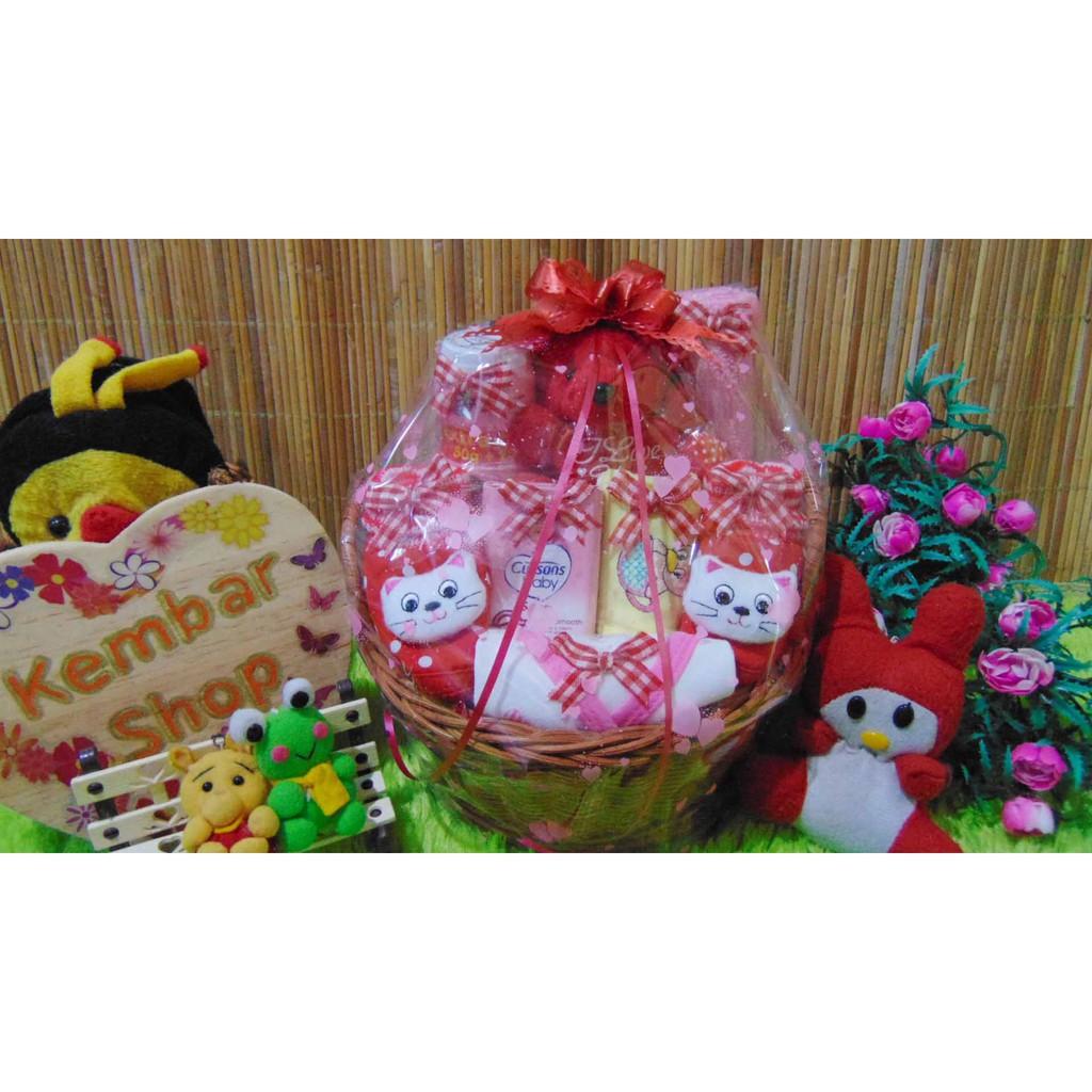 souvenir ulang tahun hampers baby bantal kotak foto bayi boneka ultah anak  kelahiran one month  8023e03dc1