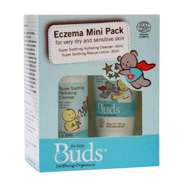 Buds Organics Eczema Mini Pack - Lotion Eksim