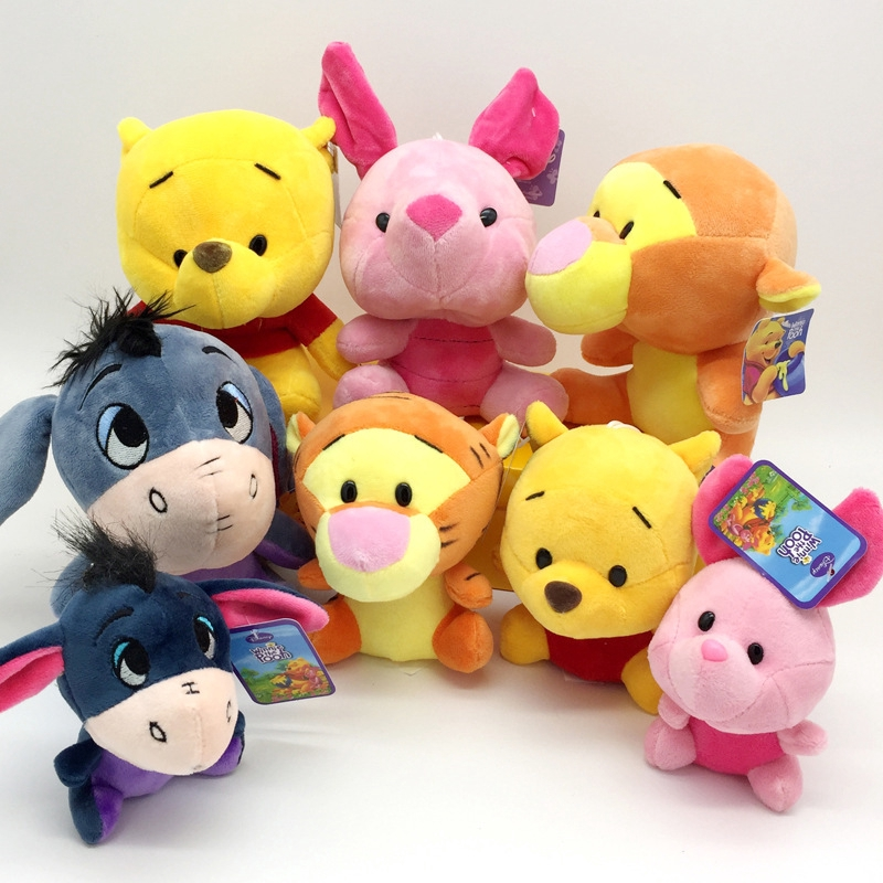 Boneka Plush Paradise Kartun Winnie The Pooh Piglet Keledai Untuk Mainan Anak Shopee Indonesia