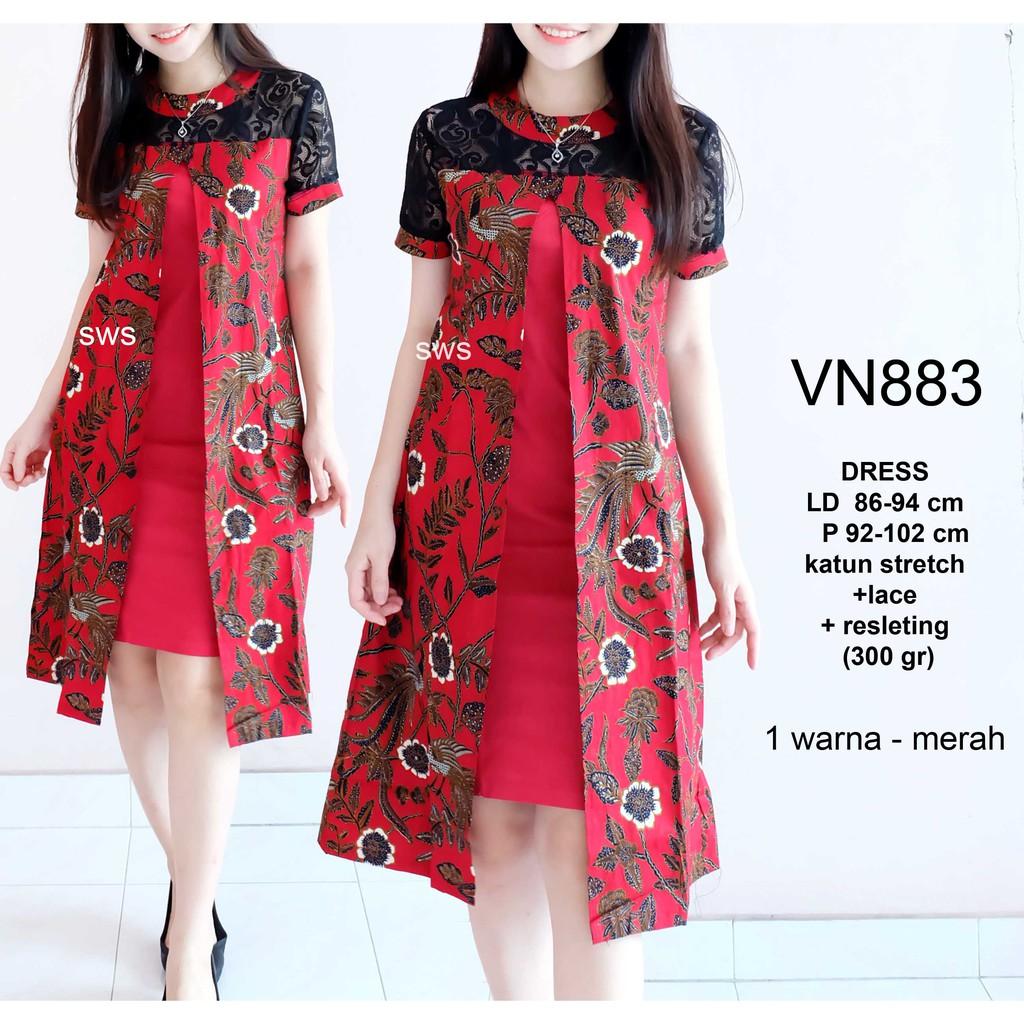 86 Desain Baju Batik Warna Hitam | Desaprojek