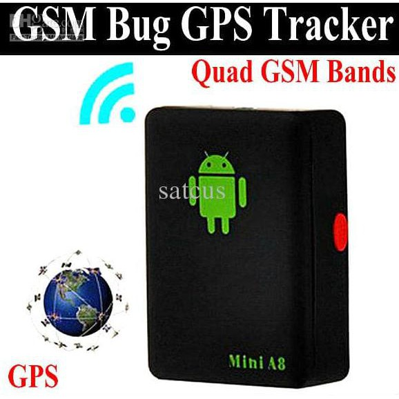 Alat Sadap Suara Mini A8 Tracker GPS / Lacak lokasi mobil motor sepeda pelacak dengan SMS GPRS GSM | Shopee Indonesia