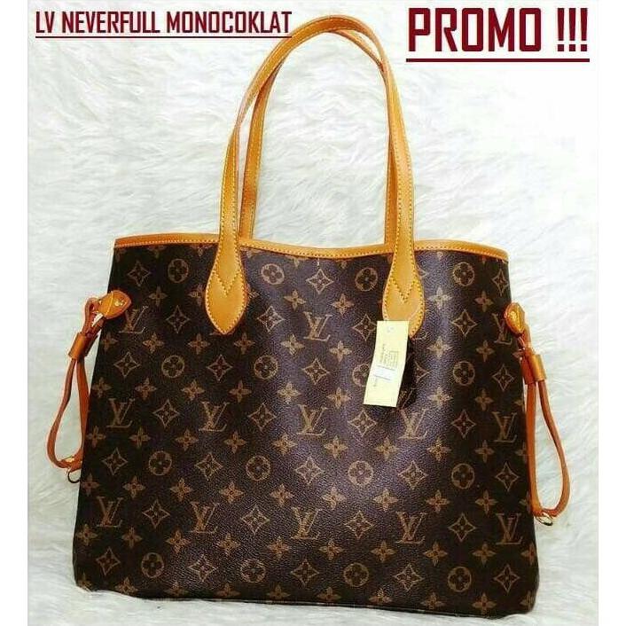 Spesial Tas Branded Wanita Lv Neverfull Import Handbag Louis Vuitton Impor  Limited  205b86ad42