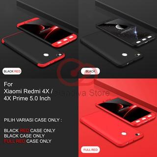 Calandiva Premium Front Back 360 Degree Full Protection Case for Xiaomi Redmi 4X / 4X Prime 5.0 Inch