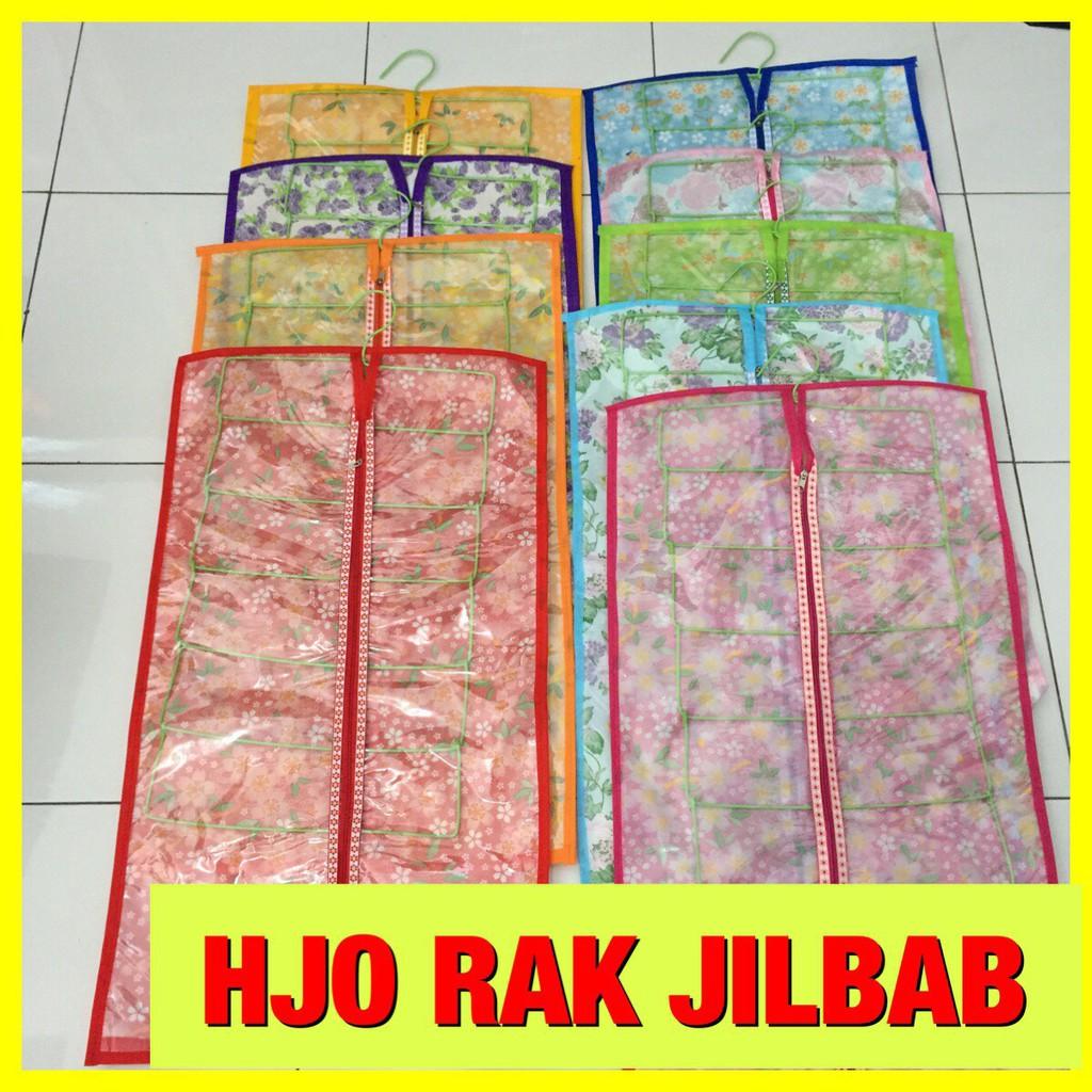 Gantungan jilbab hanger kerudung hjo hanger jilbab organizer gantung kawat cover kain hijab | Shopee Indonesia
