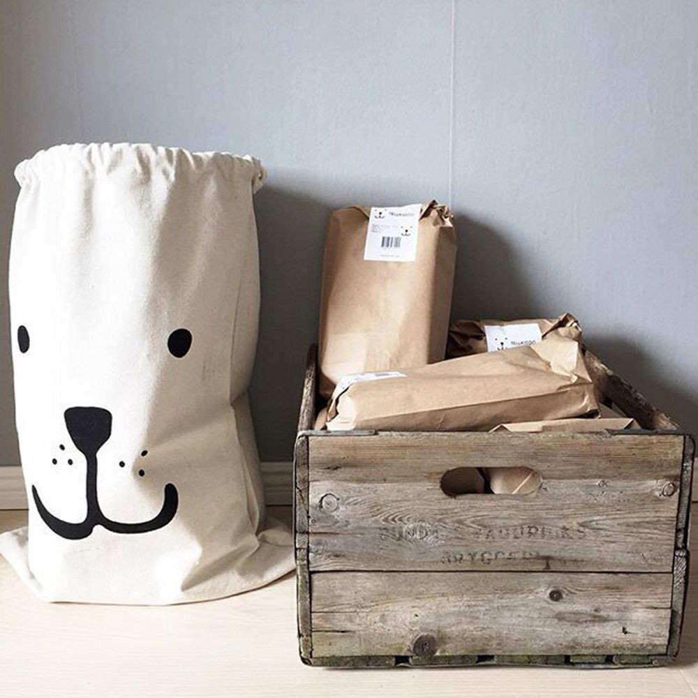 [Bayar Di Tempat]Tas Pouch dengan Model Gantung dan Motif Kotak-Kotak untuk
