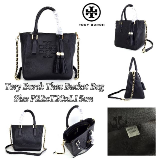 90afe19f6b93 Tory Burch Fleming Bucket Mini Bag