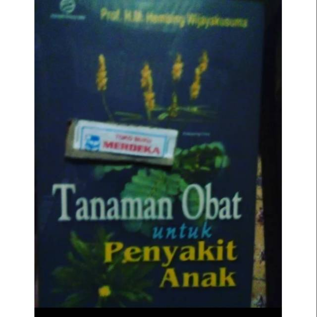 Tanaman Obat Untuk Penyakit Anak Hembing Wijayakusuma Yayasan Obor Indonesia Shopee Indonesia