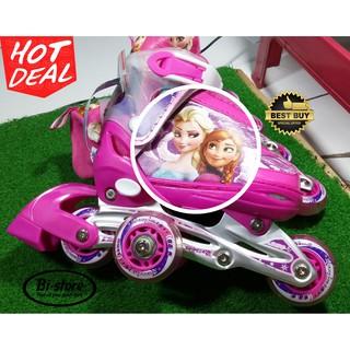 Sepatu Roda Inline anak Frozen + Bajaj  e4609d8568