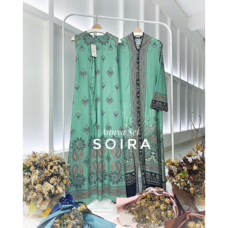 ANYA SET SOIRA/DRESS SOIRA/SET ANYA/SET WANITA