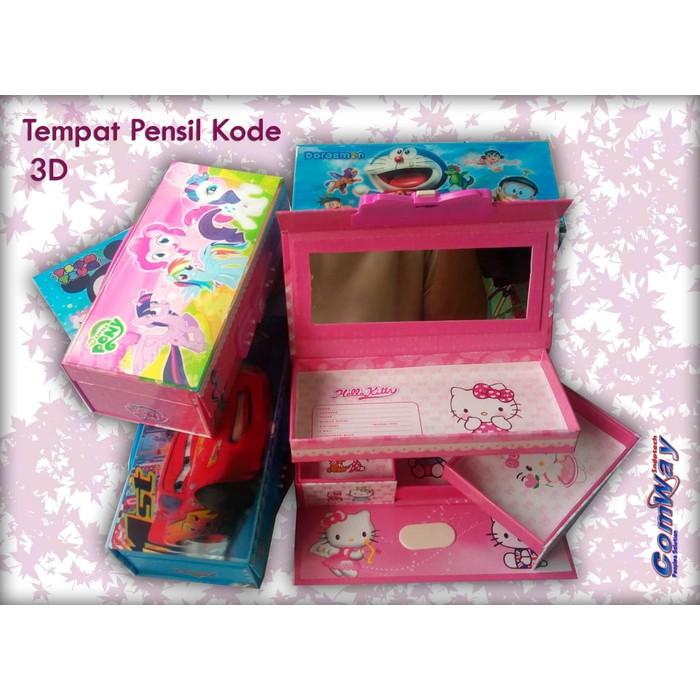 Tempat Pensil Kode 3D / Tempat Pensil Import (BARU 2018) | Shopee Indonesia