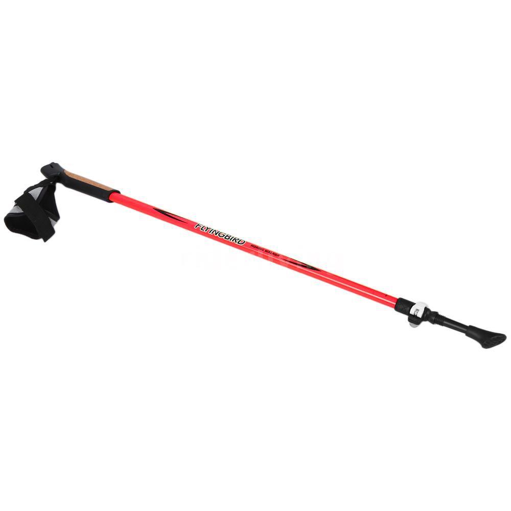 Telescopic HikingTrekking Pole Walking Stick Ultralight Weight All Terrains