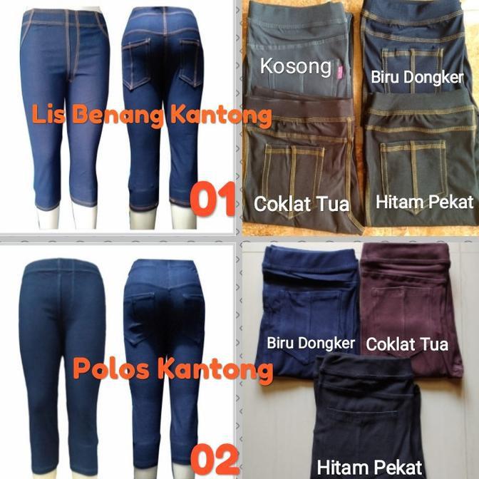 Ready Stock Legging Murah Wanita Celana Legging Wanita Legging Levis Denim 7 8 Tebal Adem Nyaman Shopee Indonesia