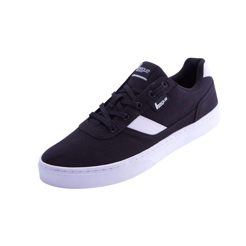 League Original Austin Lifestyle Shoes - Hitam-Putih  fd66a860a3